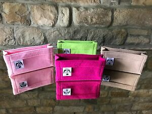 SOHO-DISCO-amp-LILY-FELT-HANDBAG-INSERT-LINER-BAG-ORGANISER-By-Handbag-Angels