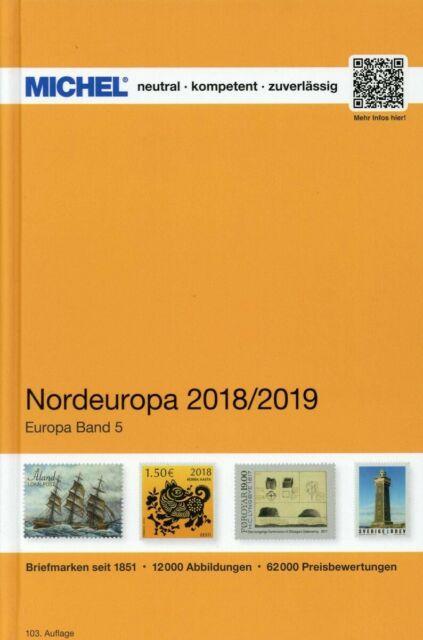 Michel. Europa-Katalog. Band 5. Nordeuropa 2018/2019 PDF download