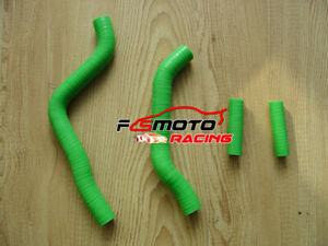 Green-For-Kawasaki-KX125-KX-125-2003-2007-2004-2005-06-07-Silicone-radiator-hose