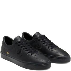 Cons-Shoes-Leather-Louie-Lopez-Pro-Low-Black-Converse-Skateboard-Sneakers