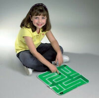 Finger Strength Tic-tac-toe Maze Skil Care Tactile Gel Mats Special Needs Games