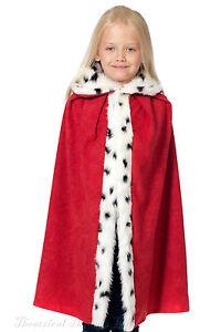 Kids-Natividad-capa-capa-Navidad-Traje-Deluxe-CHILDS-King-Queen-Hombre-sabio