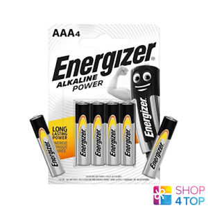 6 ENERGIZER AAA ALKALINE POWER LR03 BATTERIES 1.5V MICRO MN2400 AM4 E92