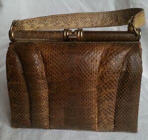 dégagement enfant grande collection Détails sur Beau sac à main ancien vintage sixties seventies