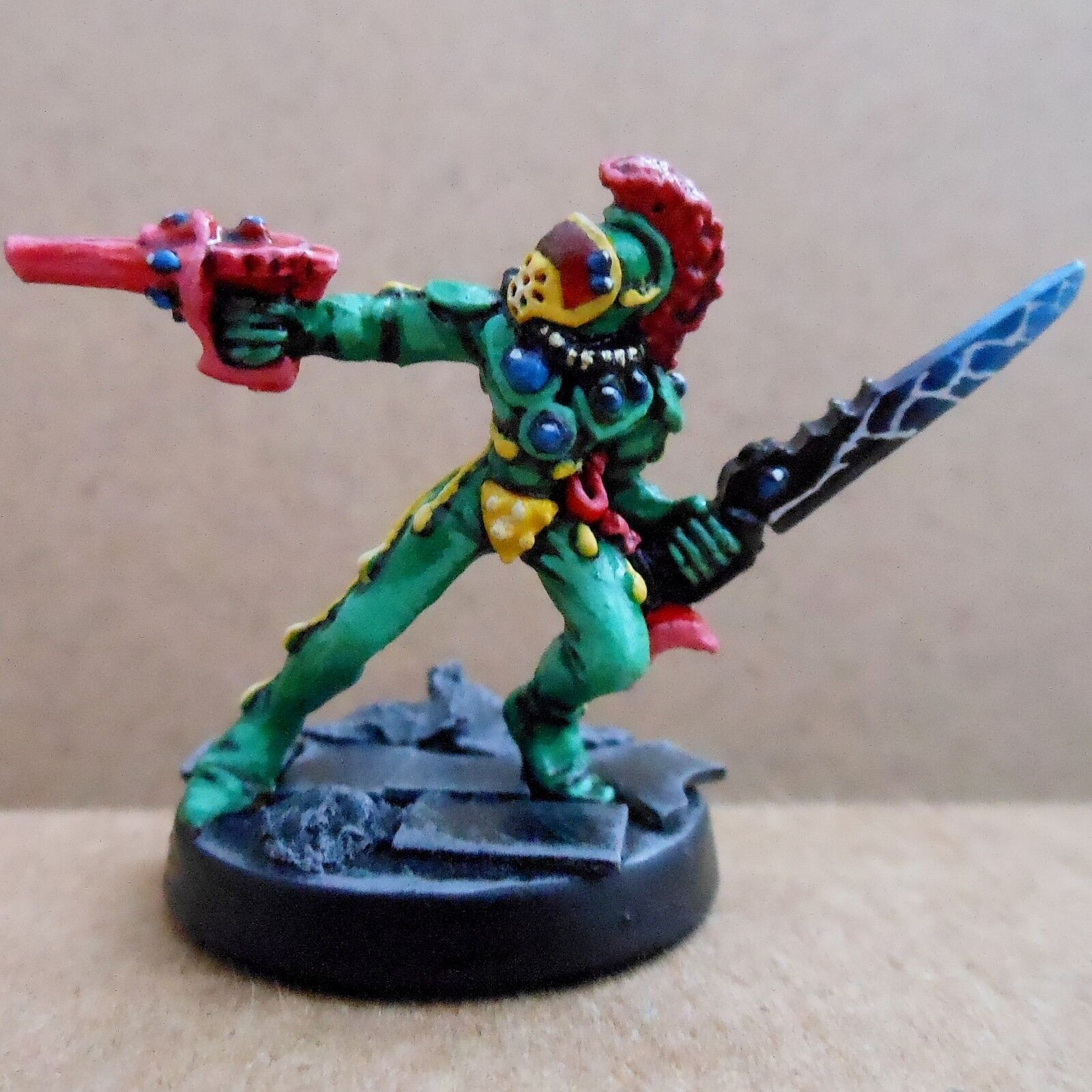 1988 Harlequin Troupers Rogue Trader Pro Painted Eldar Harlequins Warhammer Warhammer Warhammer 40K 0a7616