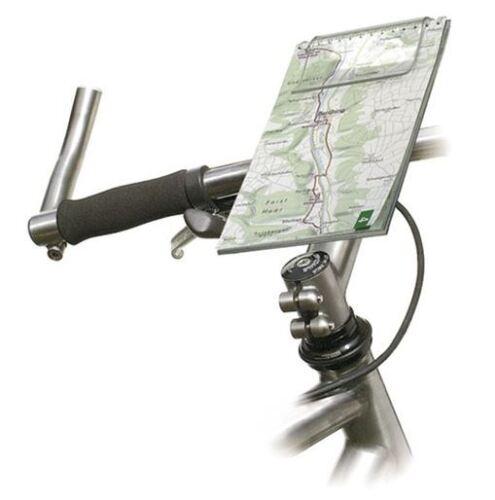"""RIXEN /& KAUL Kartenhalter /""""Mini Map 2/"""" 2704 12x25 cm mit KLICKfix Mini-Adapter"""