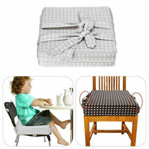 Kids Toddler High Chair Seat Pad Safe Booster Dining Cushion Adjustable Mat UK