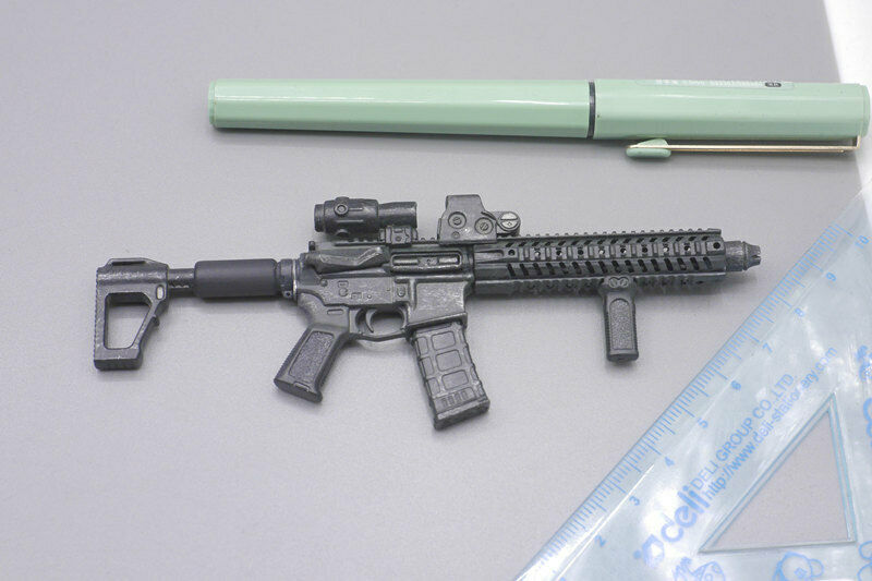 Rifle de AR15 Para Juguetes 3A THREEZERO 1 6 Escala Figura De Acción
