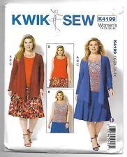 ecd15c9979b item 5 Kwik Sew K4199 1X-4X Sewing Pattern Women s Tee Shirt Skirt   Jacket  Combo -Kwik Sew K4199 1X-4X Sewing Pattern Women s Tee Shirt Skirt   Jacket  ...