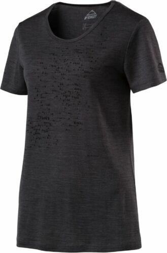 McKinley Femmes-fonctionnel-loisirs-Randonnée T-shirt Haut Rokka Gris 286019 900