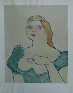 7c335c324aa TOULOUSE-LAUTREC   la mère Capulet - LITHOGRAPHIE signée  1927 ...