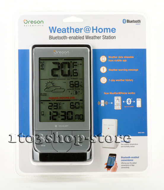 Oregon Scientific BAR218HG Outdoor Indoor Wireless Weather Station W Thermometer