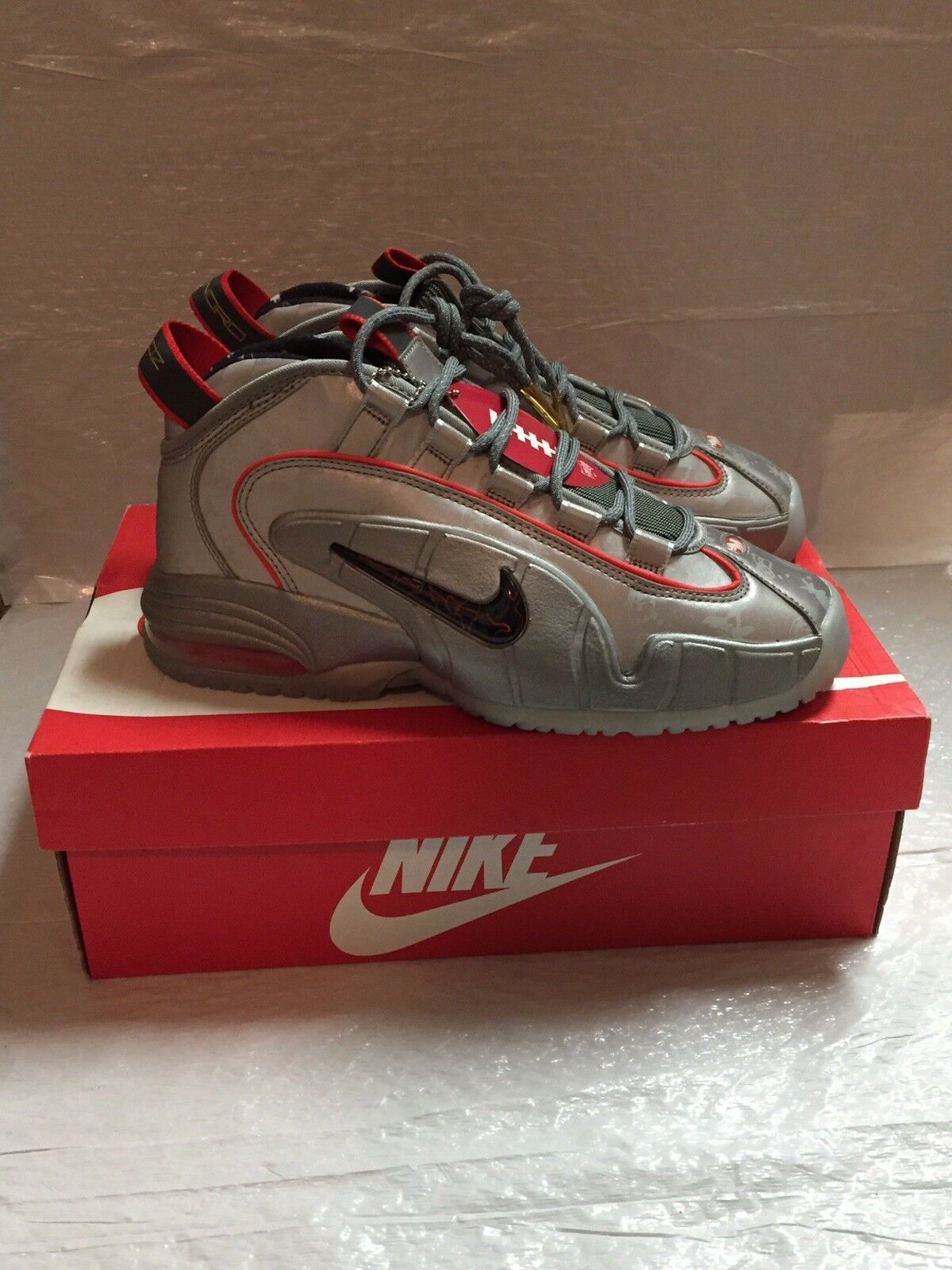 Nike Air Max Penny DB Doernbecher 728590 001 Size 8 Limited Deadstock Authentic