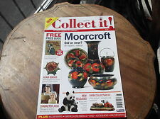 COLLECT IT AUG 2007 #121 MAGAZINE MOORCROFT ADAM BINDER CHARACTER JUGS FARMS