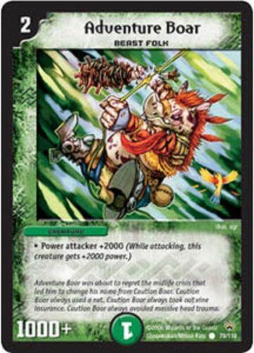 Duel Master TGC Adventure Boar DM01 Base Set