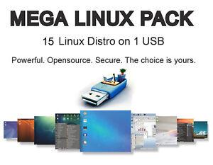 Details about 15 Linux on USB: Mint, LXLE, Lubuntu, Bodhi, Antix, Q4,  TinyCore, Chaletos, 4m