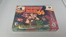 Donkey Kong Dk64 Instruction Manual Only Nintendo 64 N64 Booklet Mario No Game