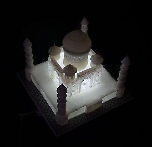 12-034-x12-034-White-Marble-Taj-Mahal-Collectible-Replica-Handicraft-Home-Decor-Gift