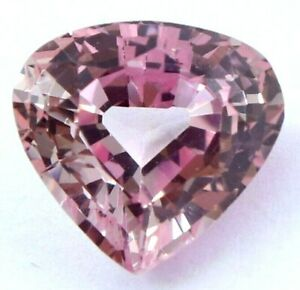 5.50 Ct Natural Padparadscha Sapphire Ceylon Pear Cut Certified Loose Gemstone
