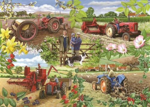 Farming Year 1000 PIECE JIGSAW PUZZLE The House Of Puzzles