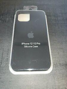 Apple Coque en Silicone pour iPhone 12/12 Pro - Noir