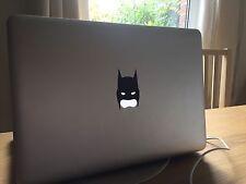 Macbook Pro/Air calcomanías Decorativas Vinilo-Máscara De Batman-vendedor de Reino Unido Apple Mac