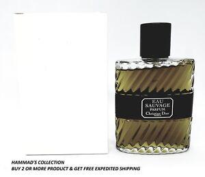 Dior Eau Sauvage Parfum Edp 34 Oz 100 Ml For Men With Cap Brand