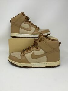 Nike-Dunk-High-Premium-Acorn-Underbrush-624512-101-Jordan-Lebron-SB-Size-8
