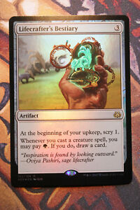 Lifecrafter-039-s-Bestiary-FOIL-mtg-VO-english-Mint