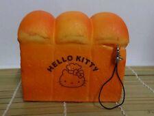 Kawaii Jumbo Size Hello Kitty Sweets Cafe Toast Squishy Slow Rise Brown