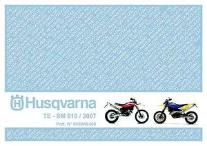 husqvarna te 610 manual