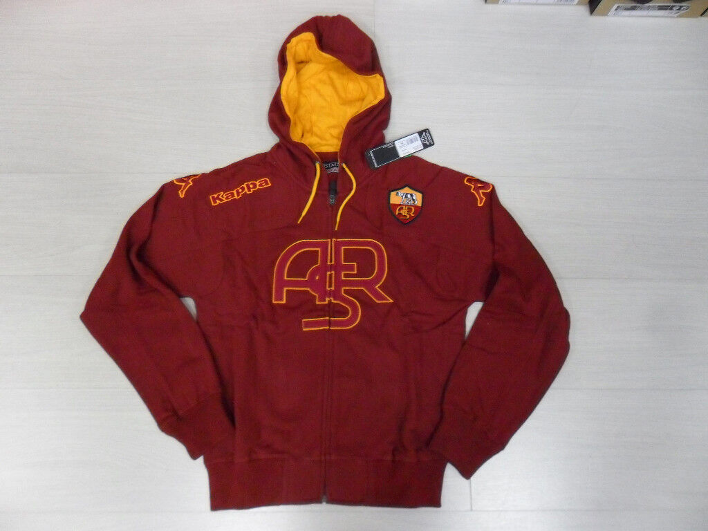 ROMA KAPPA HOODED SWEATSHIRT ASR SWEAT HOOD TOP rot XL
