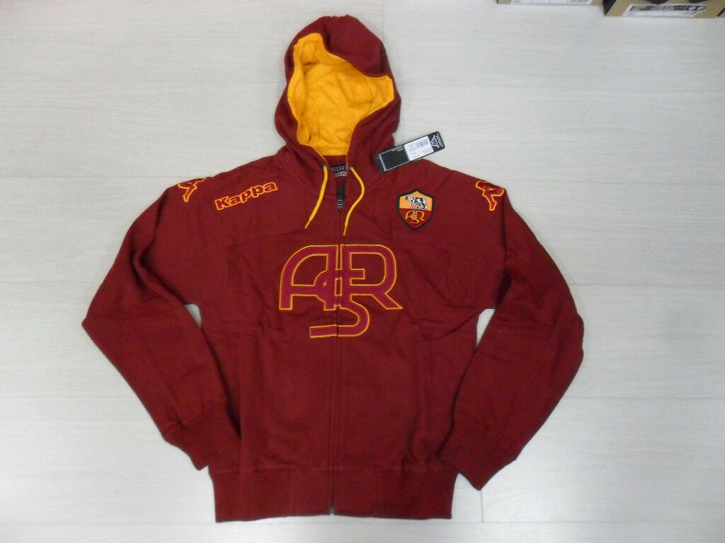 ROMA KAPPA HOODED SWEATSHIRT ASR SWEAT HOOD TOP rot S