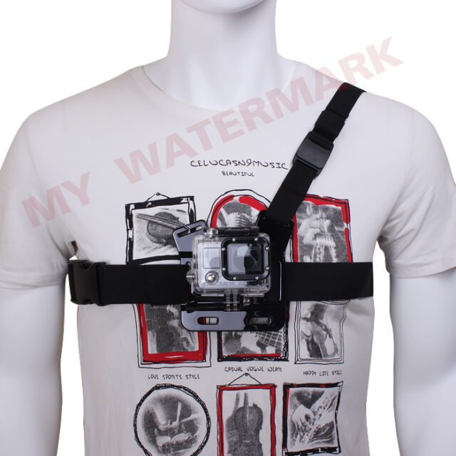 Chest Strap Mount Shoulder Harness for Gopro HD Hero 4 3+ 3 2 1 Camera