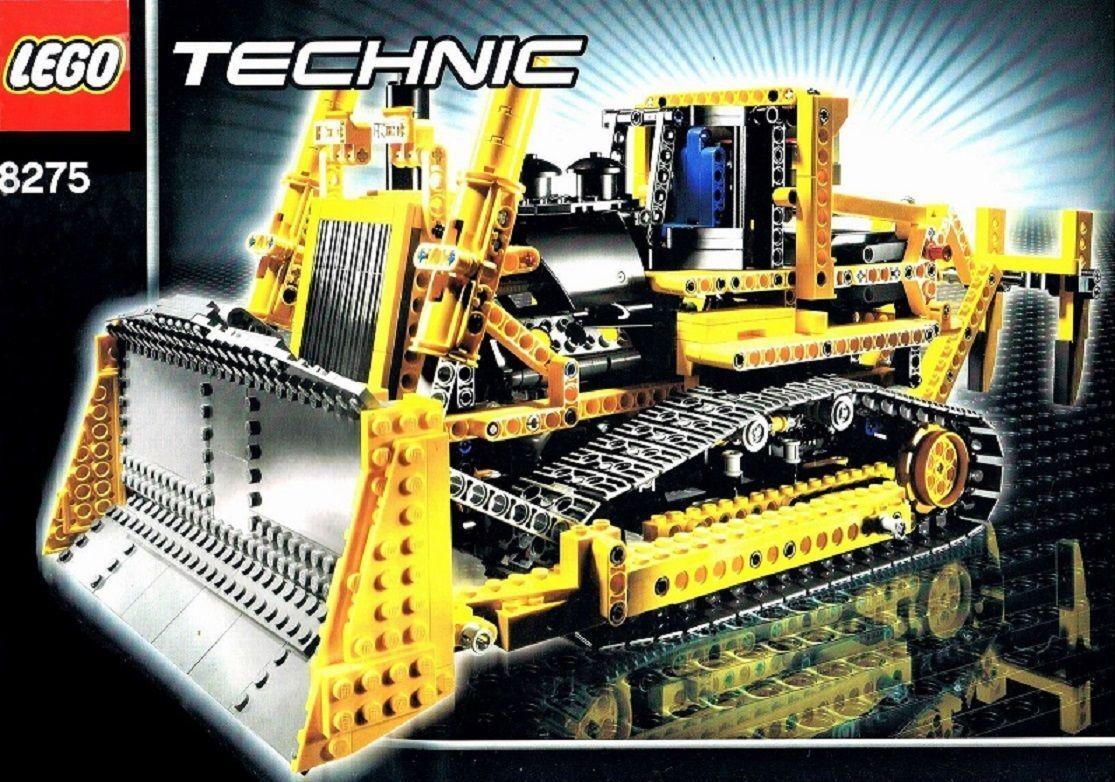 LEGO technic rc bulldozer avec moteur (8275) et de recette