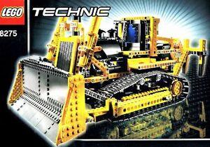 lego technic rc bulldozer mit motor 8275 und bauanleitung ebay. Black Bedroom Furniture Sets. Home Design Ideas
