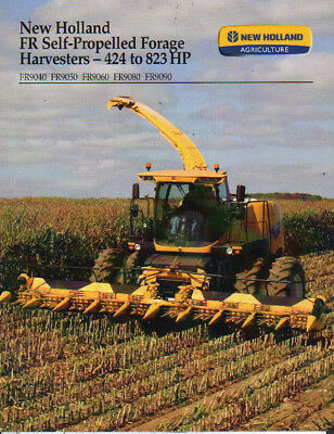 """Frank New Holland """"fr"""" 424 To 823hp Self-propelled Forage Harvester Brochure Agriculture/farming Business, Office & Industrial"""