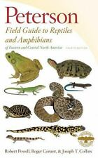 Peterson Field Guides: Peterson Field Guide to Reptiles and Amphibians of Eastern and Central North America, Fourth Edition by Joseph T. Collins, Roger Conant and Robert Powell (2016, Paperback)