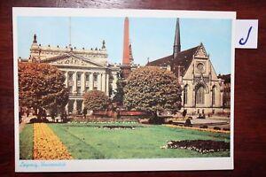 Nouvelle Mode Carte Postale Vue Carte Saxe Leipzig Université-afficher Le Titre D'origine