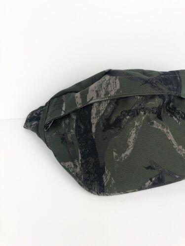 NEW Carhartt Payton Woodland Camo Cross Body Hip Bag CORDURA