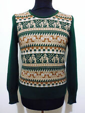 CULT VINTAGE '70 Maglione Maglia Uomo Lana Wool Man Sweater Sz.XS - 44