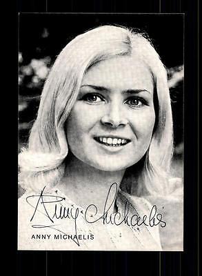DemüTigen Anny Michaelis Autogrammkarte Original Signiert ## Bc 78318 Um Jeden Preis Musik