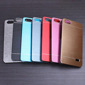 reputable site 8fe04 f1d81 Details about For Huawei Honor 4C G Play Mini Aluminium Metallic Brushed  Hard case cover