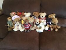 16 PC. LOT OF Boyds Bears Plush. SOME HAVE TAGS, NICE CONDITION, ASSORTED SIZES.