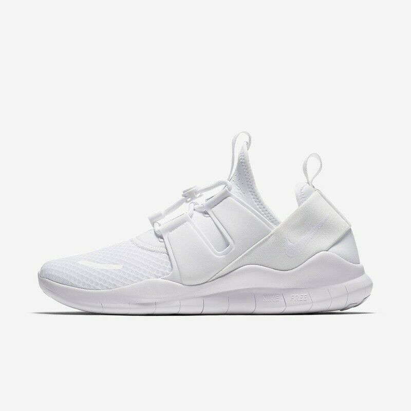 NEW Nike Free RN CMTR 2018 Running shoes White Men's Size 14 MSRP 110 AA1620-100