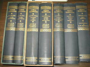 George-Washington-Vol-1-7-Douglas-Southall-Freeman-1948-1957-Vol-1-4-in-Boxes