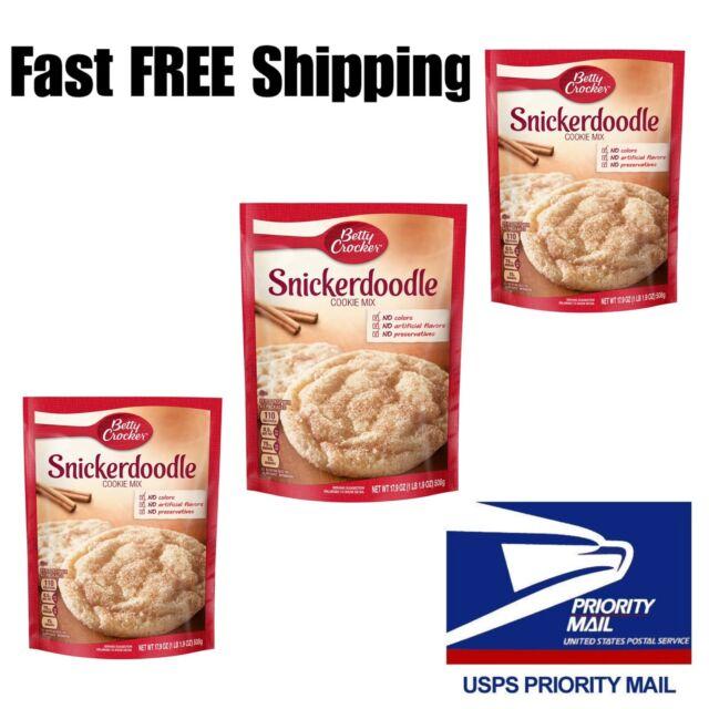 Betty Crocker Snickerdoodle Cookie Mix 17 9oz Makes 3 Dozen Cookies For Sale Online Ebay