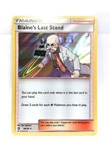 Blaine-039-s-Derniere-Socle-58-70-Holo-Pokemon-Sun-amp-Moon-Dragon-Majesty-Nm-Mt