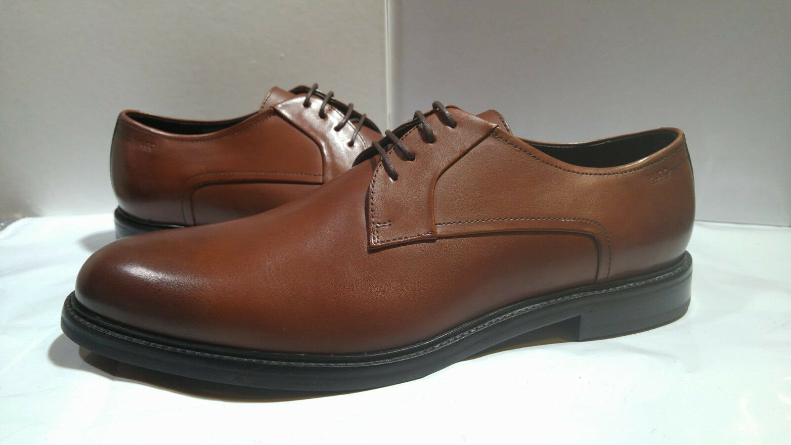Hugo BOSS Neoclass Derby Uomo Scarpe Marroni Marroni Marroni 10.5UK 80b007 c018895a02e