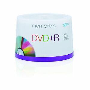 Memorex-DVD-R-120-Minutos-4-7GB-16x-Velocidad-Grabable-Discos-En-Blanco-50